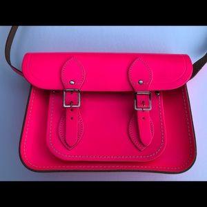 The Cambridge Satchel Company Purse neon Pink